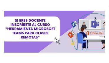Herramienta Microsoft Teams para clases remotas
